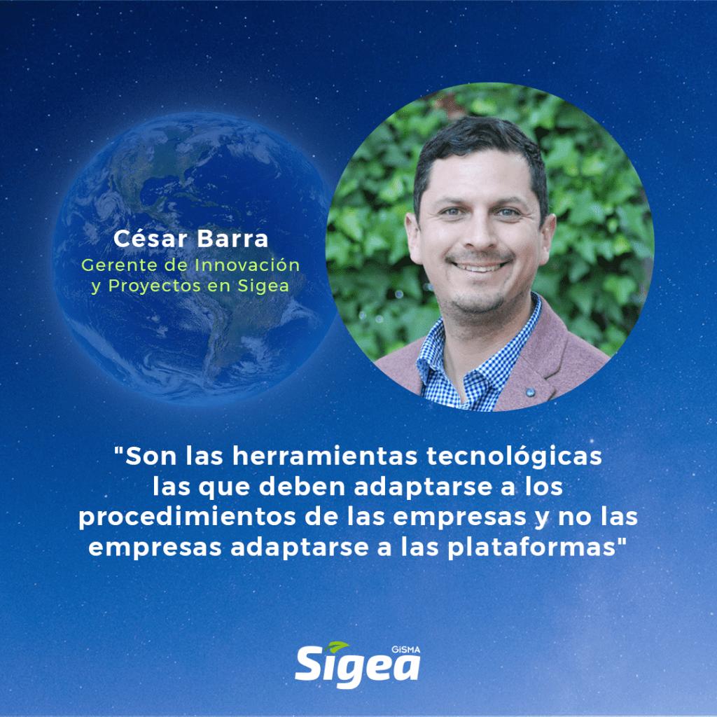 Cesar Barra y la transformación digital.