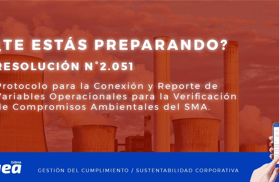 Protocolo para la Conexión y Reporte de Variables Operacionales para la Verificación de Compromisos Ambientales del SMA